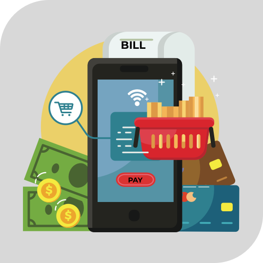 Handle all your finances with Accounting Mobility Solution