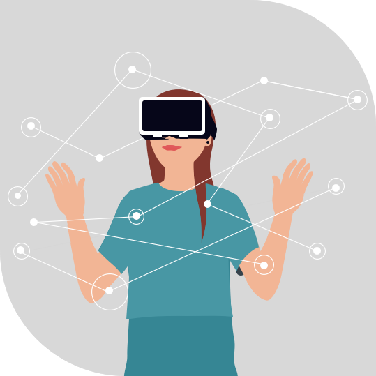 Immersive AR & VR Experiences in the advancement of the Entertainment Industry