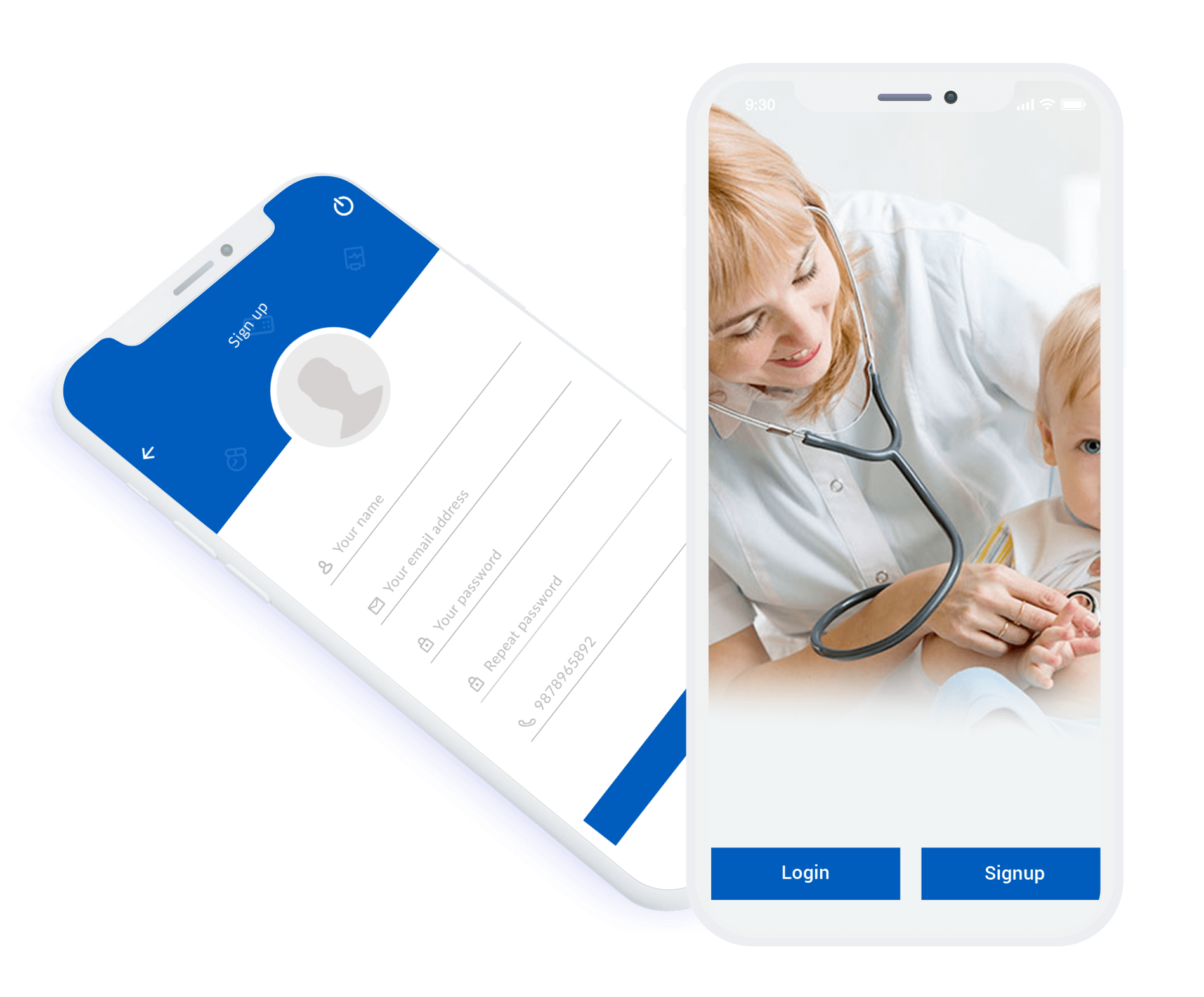app for on demand healthcare