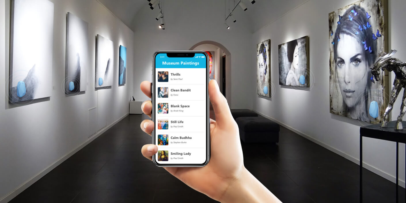 Beacon Based Museum Management App