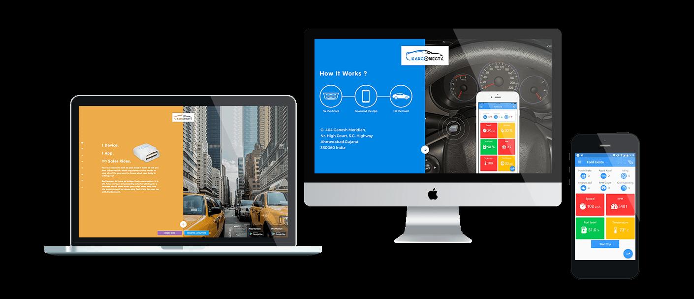 IoT based Vehicle Diagnostics Tracker