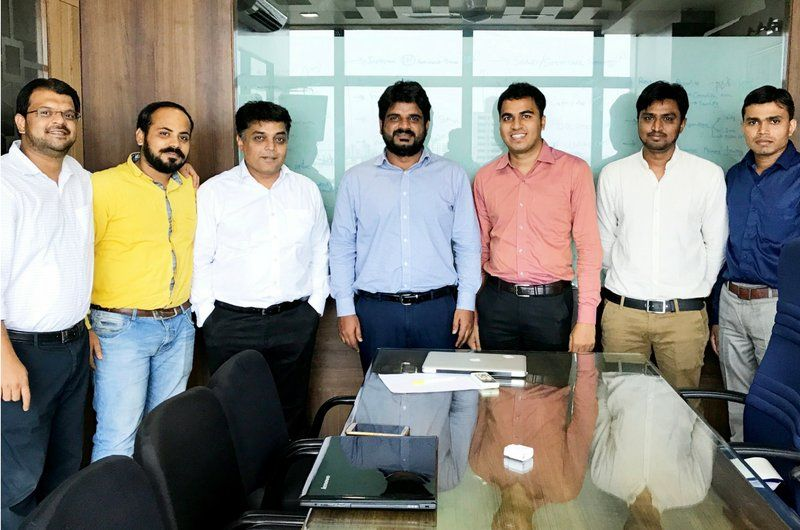 Client Visited Let's Nurture ODC, Ahmedabad in 2017 at the time of Project Kick-off