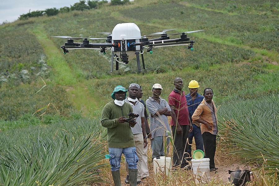 Drones-for-farming