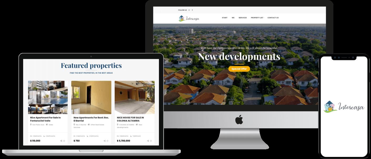 Real Estate Listing Website