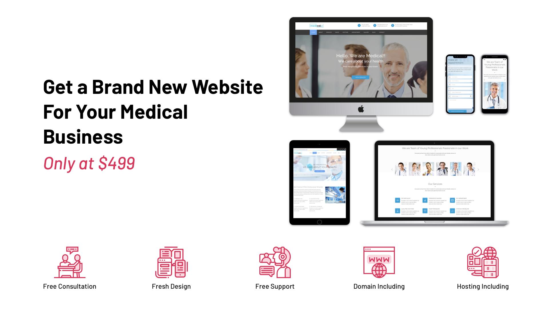 Website Plan for Medical