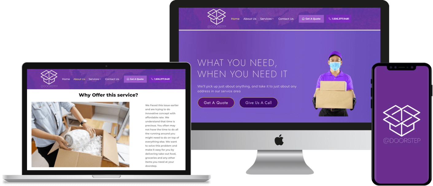 A WordPress-based multi product and multi service delivery website